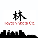 Hayashi Skate Co. website logo